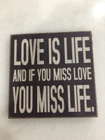 Love Wooden Magnet
