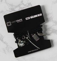 The Walking Dead Michonne/Carol Charm Wrap Bracelet