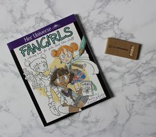 Her Universe Fangirls Coloring Book and Pencil Set