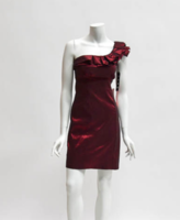 Snap Red Party Dress Size 7