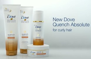 Dove Quench Absolute Set for Coarse, Curly Hair
