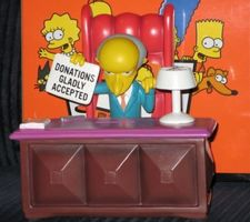 The Simpsons Mr. Burns Bank (coin bank)