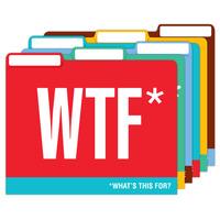 Honest Acronyms File Folders
