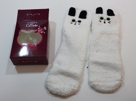 Fuzzy Cat Socks