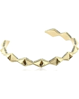 House of Harlow 1960 Sierra Pyramid Cuff in Gold