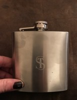 Engraved Swing Flask