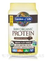 Garden of Life's Raw Organic Protein Powder in Chocolate