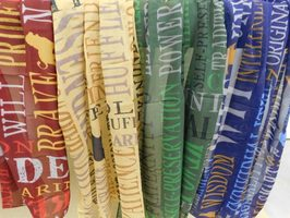 Sorting Hat Themed Infinity Scarf