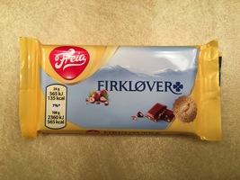 Freia Firklover (chocolate hazelnut bar)