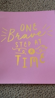 One Brave Step At A Time art print