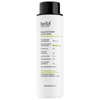 belif bergamot herbal toner
