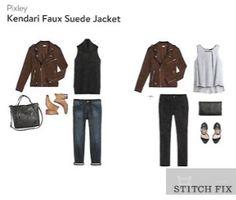 Pixley Kendari faux suede jacket