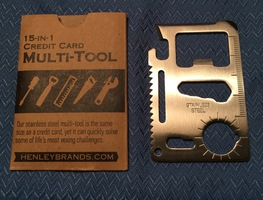 15-in-1 Credit Card Multi-Tool