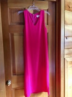 Everly pink midi dress, size S