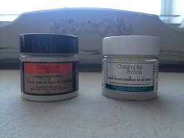 Christophe Robin Cleansing Purifying Scrub and Regenerating Mask set
