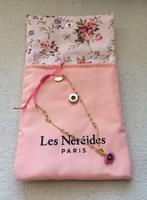 Les Nereides Pink Flower Charm Bracelet