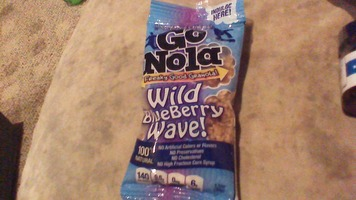 go nola wild blueberry wave granola 1.1 oz