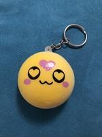 Love emoji keychain