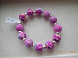Viva Beads Handmade Clay Bracelet