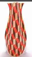Modgy expandable vase in brickbrack