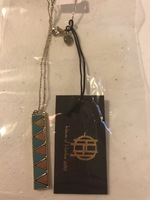 House Of Harlow RV $58 Art Deco Movement Necklace.