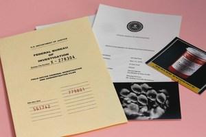 X-Files Case Replica by 10 & Under