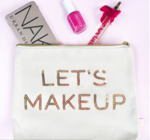 Let's Makeup Zippered Pouch