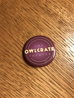 Owlcrate theater pin