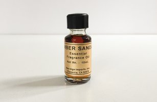 Sandalwood Amber Aromatherapy Essential Oil Blend by New Age Imports