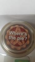 Supernatural pentagram sented pie candle