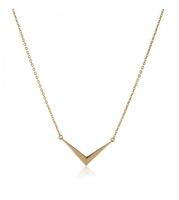 Melinda Maria Amari Mini Necklace Gold