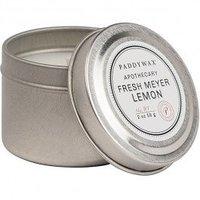 PaddyWax Apothecary Fresh Meyer Lemon #917 Candle Tin