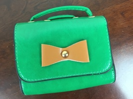 Faux Leather Purse