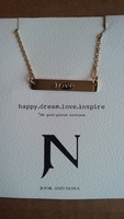 Jook And Nona 18k Gold Plated Necklace *LOVE*