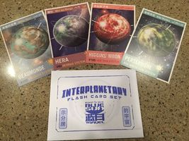 INTERPLANETARY FLASH CARD SET -EXCLUSIVE FIREFLY CARGO CRATE