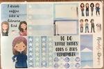 Planner Sticker/Bookmark Pack By Nerdygrldesigns