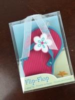 Kate Aspen Flip-Flop Luggage Tag