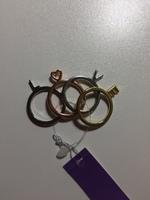 LOVE set of 4 rings that spell Love