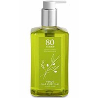 80 Acres verde hand and body wash