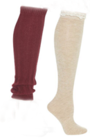 Two pairs of Legwarmers
