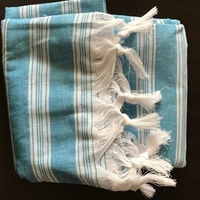 Luxe Pineapple Cotton Turkish Towel