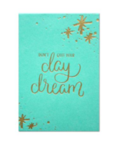 Don't Quit Your Daydream Mini Blank Sticky Notes