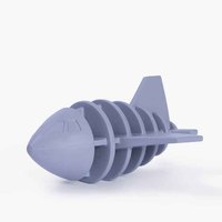 Rubber Airplane Dog Toy