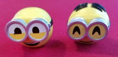 Despicable Me Minions Mymoji Mini-Figures Bob and Dave