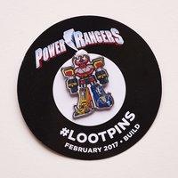 Power Rangers pin