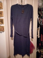 Lumiere Blue Midi Dress