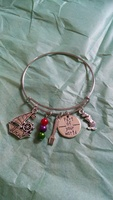 The Little Mermaid Bangle Charm Bracelet
