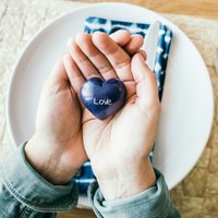 Love Soapstone Heart