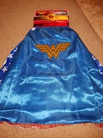 Girl's Wonder Woman Cape and Headband