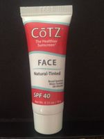 Cotz Face Natural Tinted Sunscreen with SPF 40